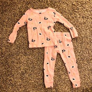 Carter's Toddler Girl Pink Pajamas